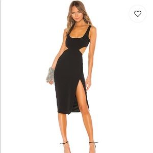 Lovers + Friends Titus Midi Dress XS